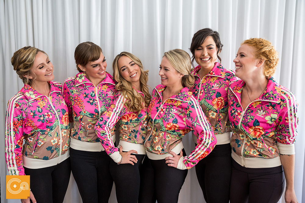 Adidas bridesmaids jackets
