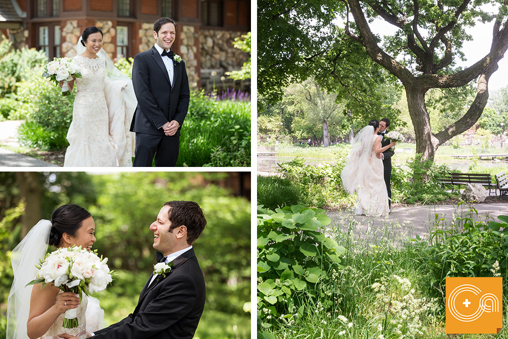 Floating World Gallery Wedding, Bond Chapel wedding