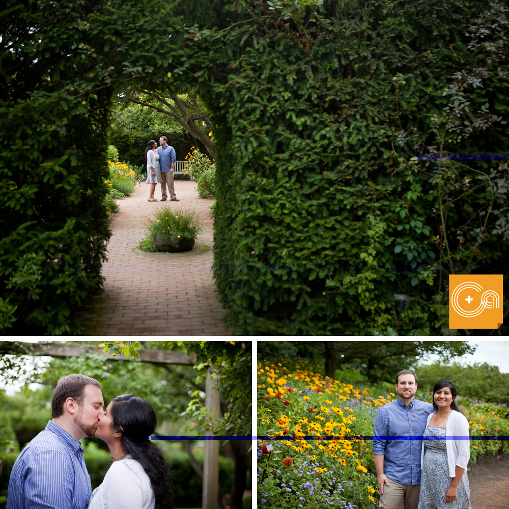 Monika And Jim S Chicago Botanic Garden Engagement Session